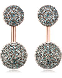 Monica Vinader - Stellar Earrings - Lyst