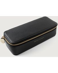Monica Vinader Large Leather Jewelry Box - Black