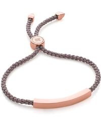 Monica Vinader Linear Friendship Bracelet - Multicolour