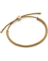 Monica Vinader Rio Mini Friendship Bracelet - Metallic