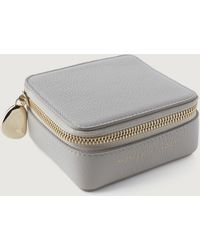 Monica Vinader Leather Jewelry Box - Gray
