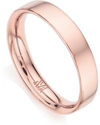 Monica Vinader - Fiji Band Stacking Ring - Lyst