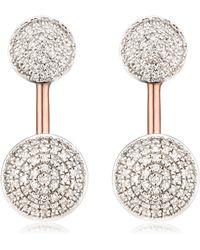 Monica Vinader - Stellar Earrings - Lyst