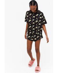 Monki Pyjama Set - Black
