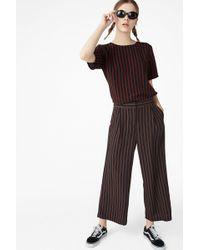 Monki Flowy Trousers - Multicolour
