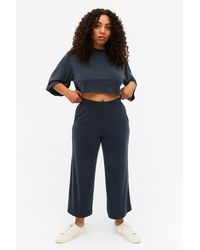 Monki Super-soft Pants - Black