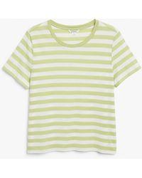 Monki Soft Tee - Green