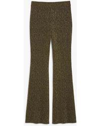 Monki - High-waist Flared Trousers - Lyst