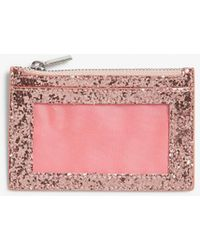 Monki Card Case - Pink