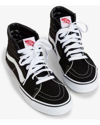 89324d8322dad5 Madewell Vans® Unisex Sk8-hi High-top Sneakers In Marled Fabric in ...