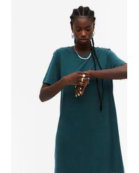 Monki Super-soft T-shirt Dress - Green