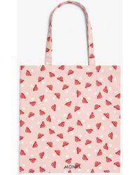 Monki Tote Bag - Pink