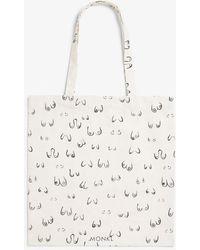 Monki Tote Bag - White