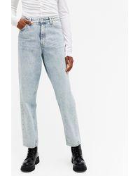 Monki Kyo Worn Blue Jeans
