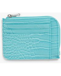 Monki Zip Wallet - Blue