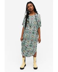 Monki Oversized T-shirt Dress - Multicolour