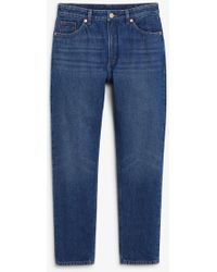 Monki - Kimomo Classic Blue Jeans - Lyst