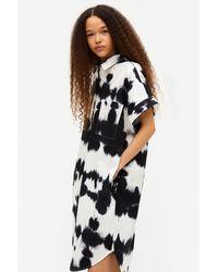 Monki Oversized Midi Shirt Dress - Black