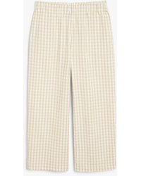 Monki - Wide Leg Trousers - Lyst