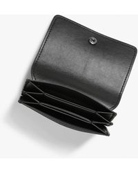 Monki Faux Leather Card Case - Black