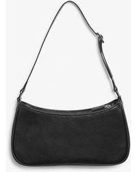 Monki Small Hand Bag - Black