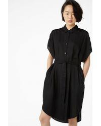 Monki - Belted Shirt Dress - Lyst