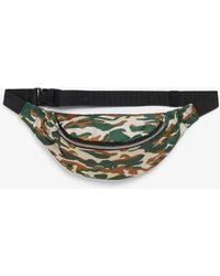05a1b2b80f91 Michael Kors Brown Mk Signature Fanny Pack Belt Bag in Brown - Lyst