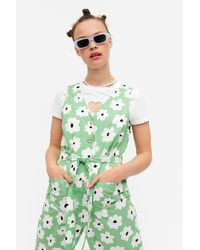 Monki Sleeveless Jumpsuit - Green