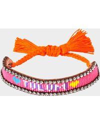 Shourouk - Tulum Bracelet - Lyst