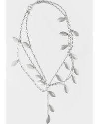 Isabel Marant Silver Necklace - Metallic