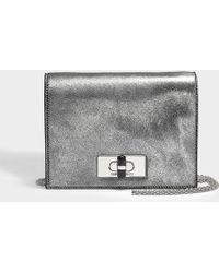 Giorgio Armani - Calliope Mini Bag In Black Calfskin - Lyst