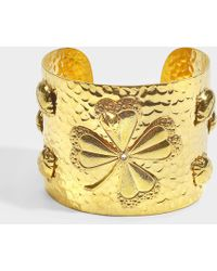 Sylvia Toledano - Lucky U Cuff In Gold 18k Gold Plated Brass - Lyst