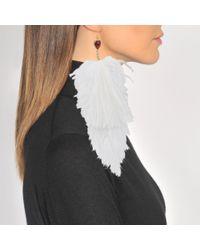 Sonia Rykiel - Earring Feathers - Lyst