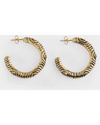 Aurelie Bidermann - Miri Earrings In Gold Metal - Lyst