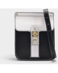 Proenza Schouler - Bag Ps11 Box In Optic White And Black Smooth Leather - Lyst