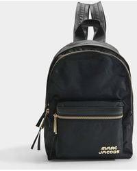 Marc Jacobs Sac à Dos Medium Backpack en Polyster Noir
