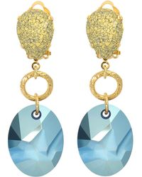 Aris Geldis - Terracota Earrings - Lyst