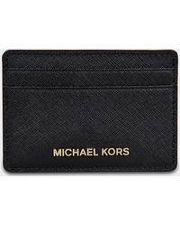 MICHAEL Michael Kors - Jet Set Travel Card Holder - Lyst