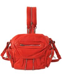 Alexander Wang | Marti Mini Convertible Leather Backpack | Lyst