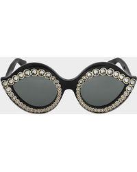 Gucci - Sunglasses Gg0045s-001 - Lyst
