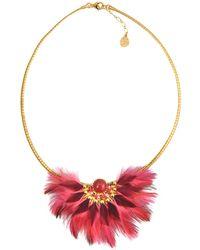 Gas Bijoux | Gaia Feather Necklace | Lyst