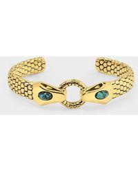 Aurelie Bidermann Armband Tao Aus Blauem Metall - Blue