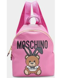 Moschino - Small Teddy Playboy Backpack - Lyst