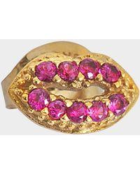 Marc Jacobs - Lips Single Stud - Lyst