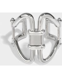Roberto Cavalli - Rasna Bracelet In Silver Metal - Lyst