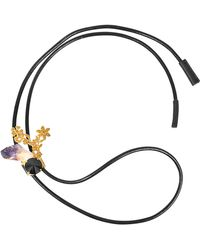 Marni - Amethyst And Crystals Necklace - Lyst