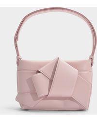 Acne Studios - Musubi Handbag In Powder Pink Calfskin - Lyst