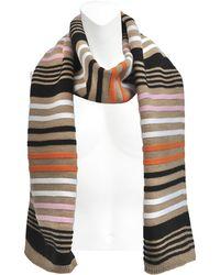 Sonia Rykiel Multicolour Stripes Scarf