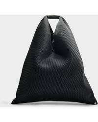 MM6 by Maison Martin Margiela - Japanese Mesh Bag In Forest Green Stitch - Lyst