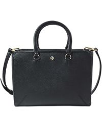 Tory Burch - Robinson Small Zip Tote - Lyst